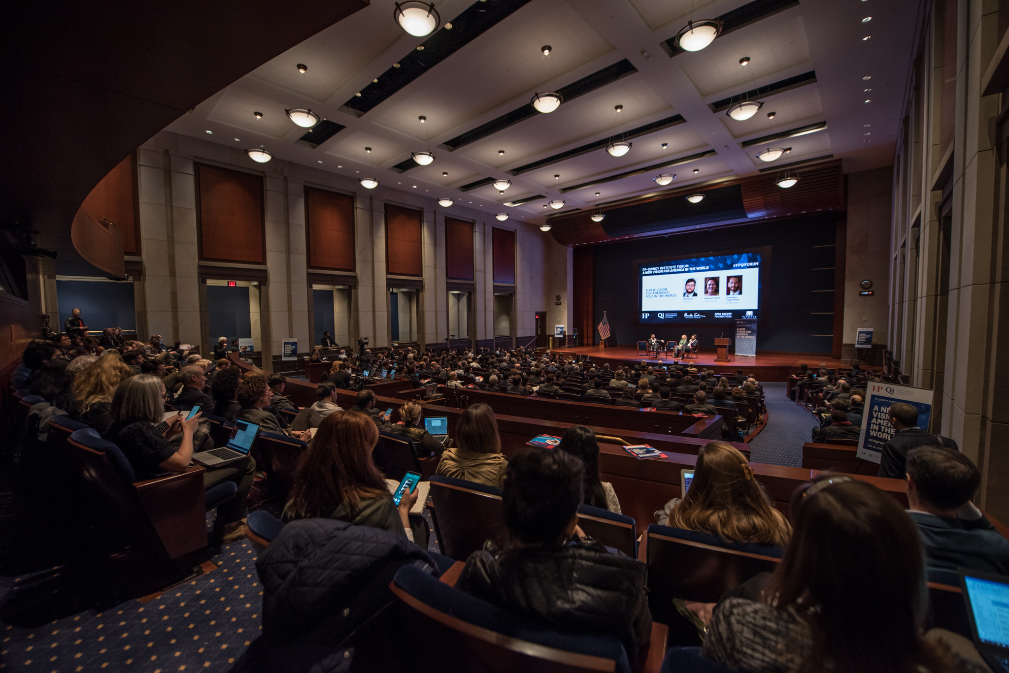 Congressional auditorium